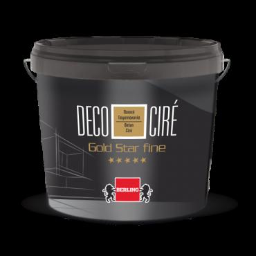 DECO CIRE GOLD STAR FINE15kg ΓΚΡΙ